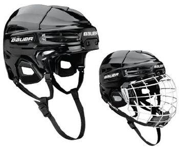 BAUER IMS 5.0 Combo Helmet Hokejová helma vč.mřížky černá