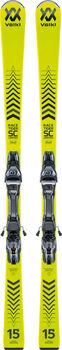 Völkl Racetiger Limited SC závodní sjezdové lyže bez vázání žlutá