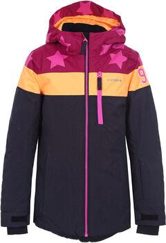 Icepeak Lane Jr lyžařská bunda červená
